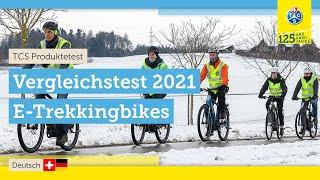 10 Trekking E-Bikes im Test (2021) | Reichweite, Bremsen & Akku