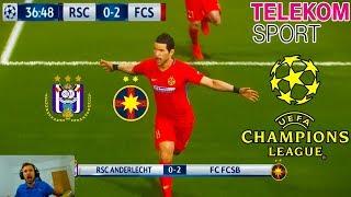 Stanciu Se Razbuna Pe Anderlecht In Champions League - PES 2018 Romania Cariera Cu Steaua
