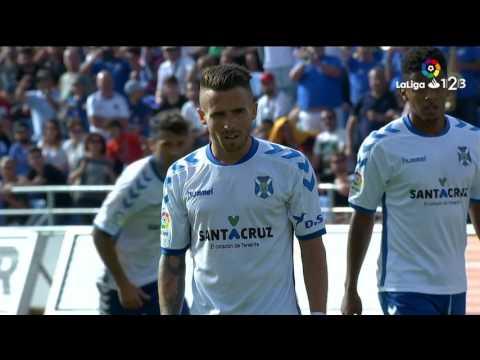 Resumen de CD Tenerife vs Girona FC (3-3)