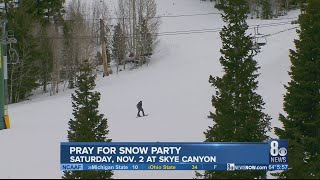 Let It Snow Lee Canyon sets date for 2019 Pray for Snow party