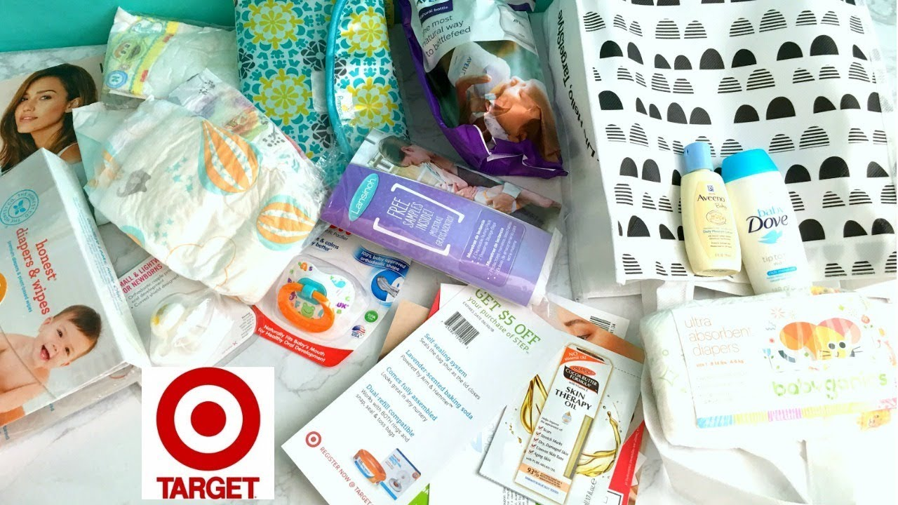 2018 Target Baby Registry Free Bag What S In