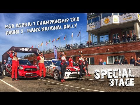 Manx National Rally - Protyre MSA Asphalt Rally Championship