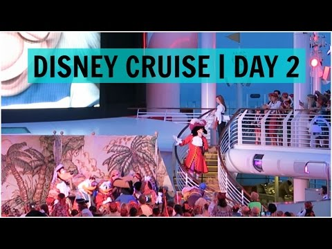 DISNEY DREAM CRUISE 2015 | DAY 2 | PIRATE PARTY - June 6, 2015