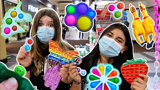 WE FOUND FIDGETS AT THE MALL & TOKYO WORLD!