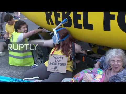 Spain: TOPLESS FEMEN activists protest against 'Gag Law' from YouTube · Duration:  36 seconds