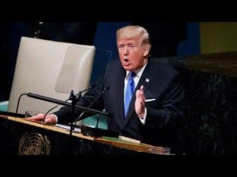 President Trump hammers North Korea, Iran at UN