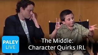 The Middle - Character Quirks in Real Life (Paley Center Interview)