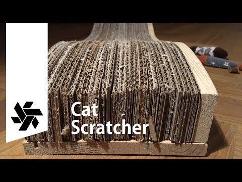 Cardboard Cat Scratcher // How-to DIY