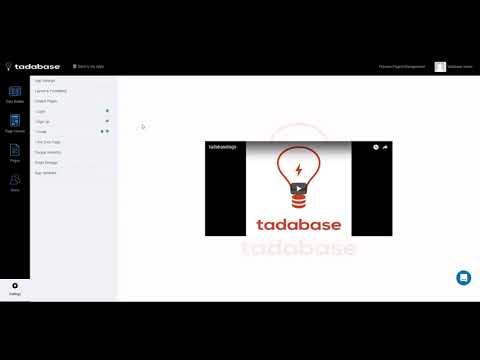 Tadabase.io quick birds-eye overview