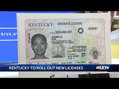 Kentucky Ready To Roll Out New Secure Driver's License ID