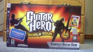 Unboxing Guitar Hero World Tour (PS3)