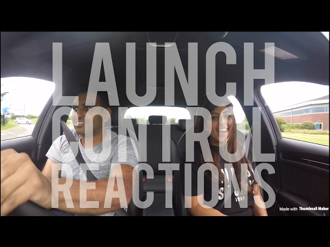 Audi RS3 LAUNCH CONTROL reaction compilation - Fast 0-60 acceleration