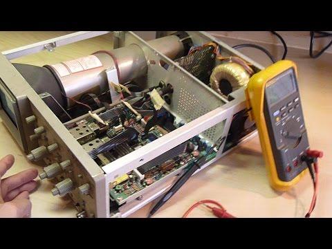 ManCave 001 - Tektronix 2201 Oscilloscope Repair (Part 1) - Troubleshooting