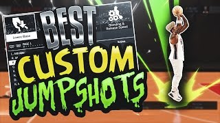 SECRET GREEN LIGHT CUSTOM JUMPSHOTS FOR EVERY PLAYER & ARCHETYPE!  BEST CUSTOM JUMPSHOT IN NBA 2K17!
