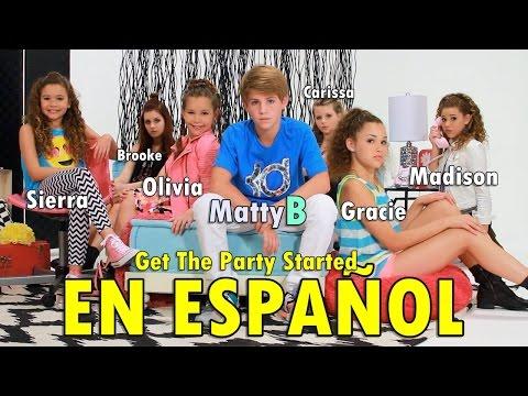 MattyB - Get The Party Started (Subtitulado en Español!)