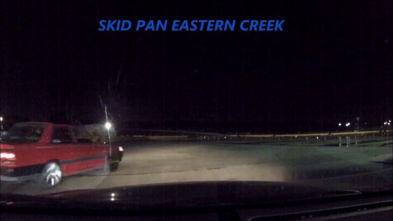 Vt Drifting Eastern Creek Skid Pan Friday Night