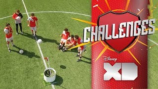 Futgolf | Valentino, Daniel, Dedé, Ricky, Catorce Y Pablo | O11CE Challenges