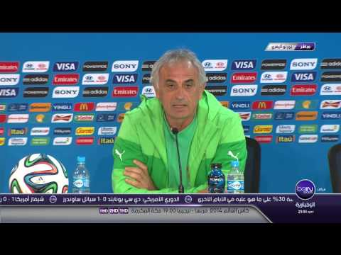 conference de presse halilhodzic algerie allemagne