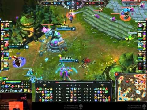 Gaming Festival 2012 - LoL Starz Finals: DD vs TyL Final Game