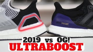UltraBoost 2019 vs UltraBoost OG 1.0 Comparison Review! Which Is More Comfortable?