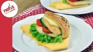 Cepli Sandviç Poğaça Tarifi | Sandviç Nasıl Yapılır?