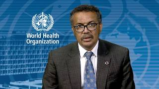 WHO: Call to Action on AMR -  Video message from WHO Director-General Dr Tedros