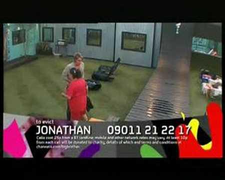Big Brother 8 UK : Ziggy v Chanelle Breakup : REAL TIME pt2