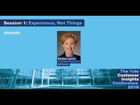 Kirsten Lynch, Vail Resorts: Using Data to Understand and Reach Customers