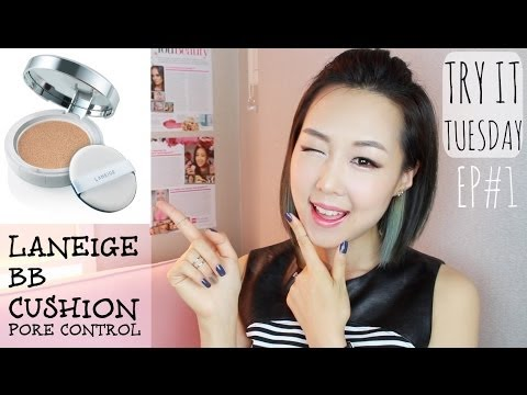 Laneige BB Cushion [Pore Control] Review! 라네즈 비비쿠션 리뷰 #TryItTuesday