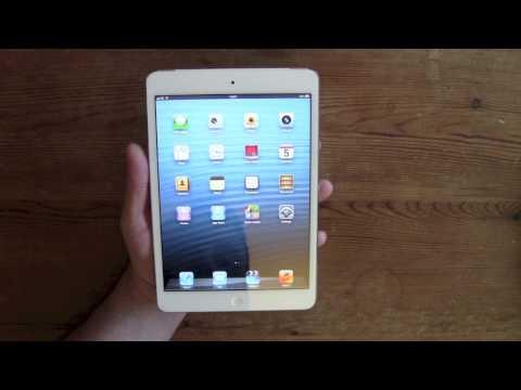 Apple iPad Mini 16gb LTE 4G White and Silver UK Version