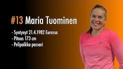 Pelaajakortti #13 Maria Tuominen