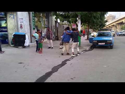 Funny street dance addis ababa