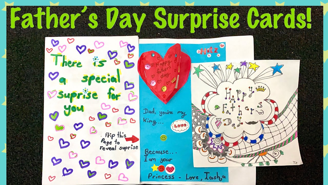 diy father's day greeting card ideas  handmade father's