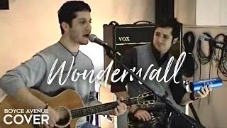 Oasis - Wonderwall (Boyce Avenue acoustic cover) on Spotify & Apple thumbnail