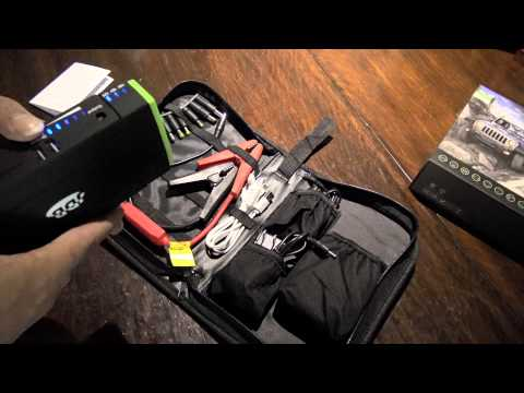 Product Review: Lithium Portable Smart Car Jump Starter By JDB