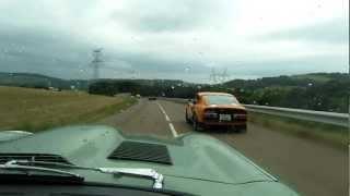 Jaguar e-Type rules the road