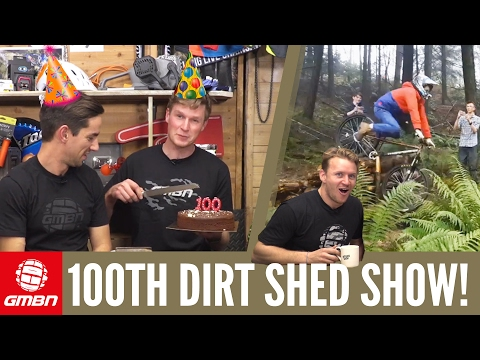 The World's Best Mountain Biker Decided! | Dirt Shed Show 100th Episode Special
