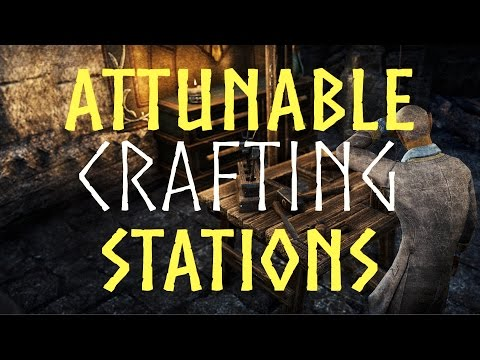 Eso Homestead Crafting Stations