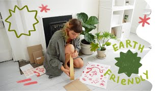 Eco-Friendly Packaging 🌿 How I Package Products