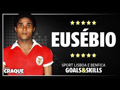 EUSÉBIO ● SL Benfica ● Goals & Skills