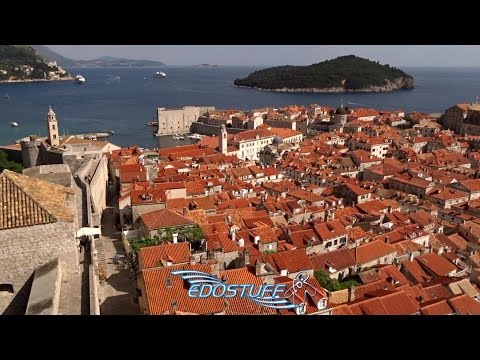 The Beauty of Dubrovnik Ancient City Walls - Walking Tour 2015 Full HD