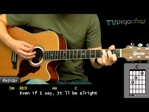 (Tocando) Three Days Grace - Never Too Late - TV Pega Cifras