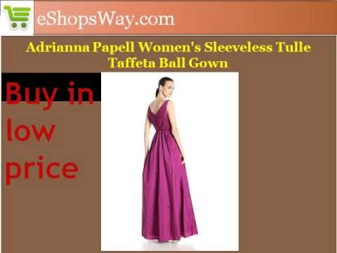 Adrianna Papell Women's Sleeveless Dress buy in low price at eShopsWay