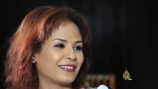 لقاء مع الفنانة نانسي عجاج على قناة الجزيرة