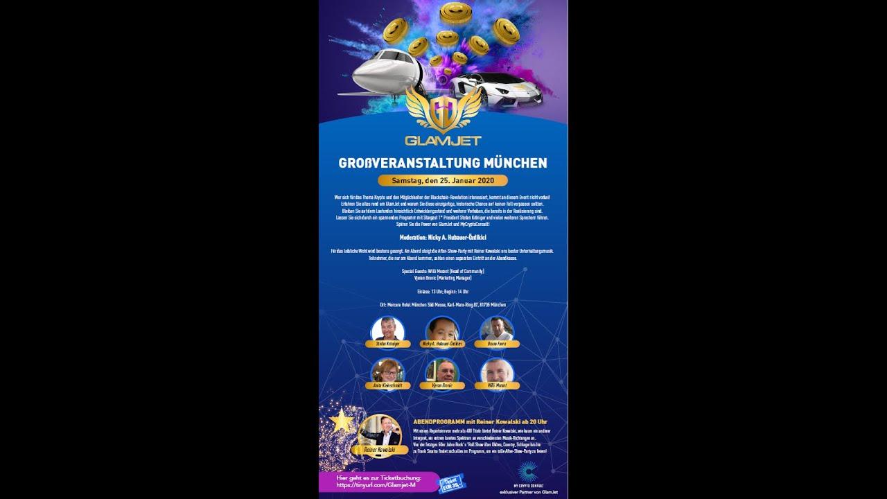 Einladung zum GlamJet Future Summit - München, 25.1.2020