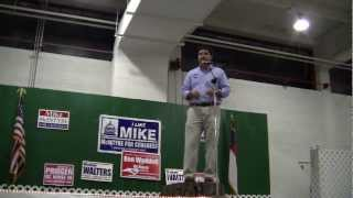 NC-07,9-15-2012,Rouzer, Fair Bluff Stumping