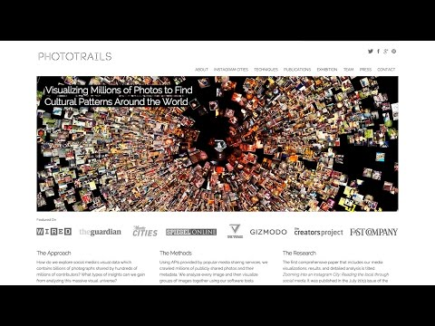 "Dr. Lev Manovich: ""Photography as Big Data: How to Find Patterns in Millions of Instagram Images"""
