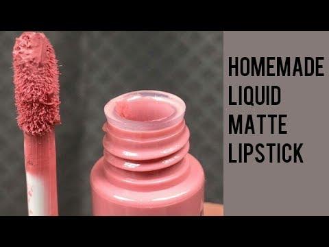 Homemade Matte Liquid Lipstick 💄