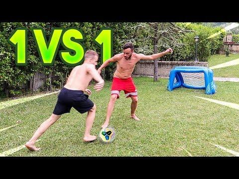 ⚽ 1 vs 1 FOOTBALL CHALLENGE! w/Fius Gamer, Ohm & Tatino