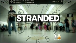 Family Wants Answers After Elderly Woman Is Stranded At Newark Airport